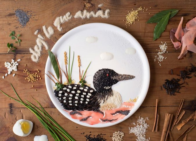 amazing-food-art-by-anna-keville-joyce-675x488 Top 10 Best Food Artists in the World