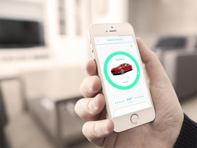 charging-electric-car-mobile-app-675x506 Cyber Security Issues of Internet with Electric Vehicles