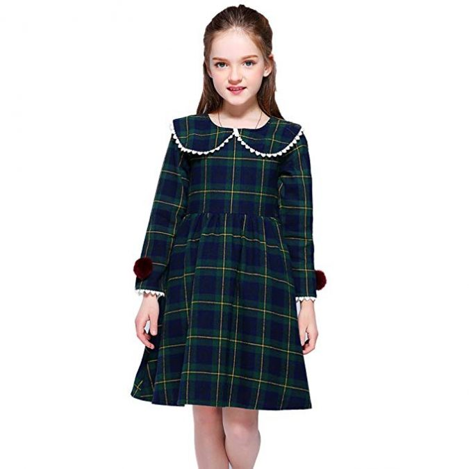 children-outfit-checked-dress-675x675 Children's Fashion 2019: Trends for Girls and Boys