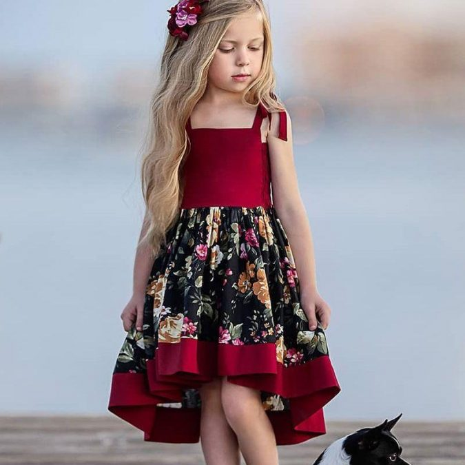 children-outfit-floral-printed-dress-675x675 Children's Fashion 2019: Trends for Girls and Boys