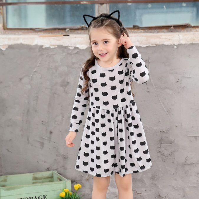 children-outfit-printed-dress-2-675x675 Children's Fashion 2019: Trends for Girls and Boys