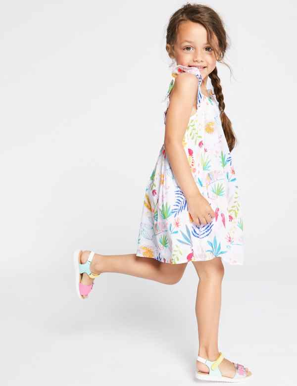 children-outfit-printed-dress Children's Fashion 2019: Trends for Girls and Boys
