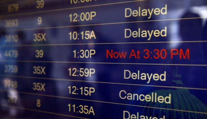 delayed-flights-675x389 5 Travel Tips to Help You Save (Or Gain) Money on Your Next Trip