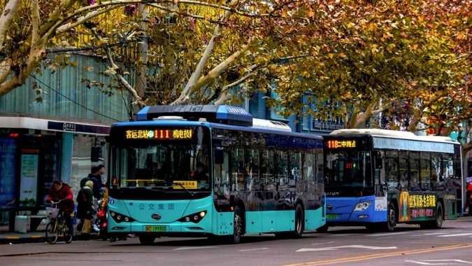 electric-buses-675x380 Saving Nature: Best 10 Eco-Friendly Transport Types