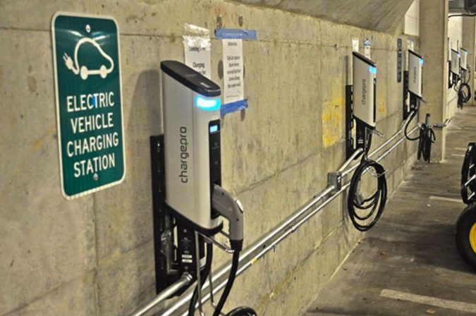 electric-car-Level-2-Charging-station-675x448 Cyber Security Issues of Internet with Electric Vehicles