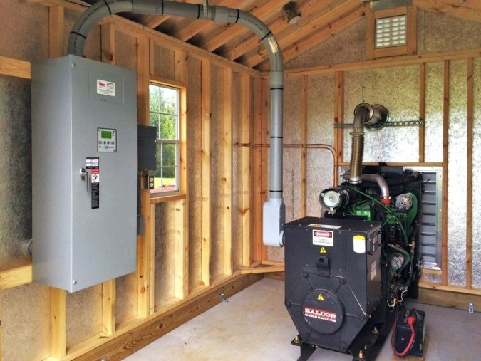 generator-shed-675x507 10 Tips for Buying the Right Diesel Generator