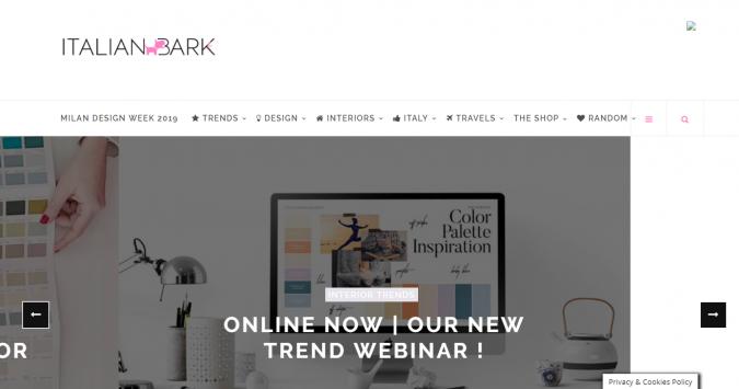 italian-bark-website-interior-design-675x355 Best 50 Home Decor Websites to Follow in 2020