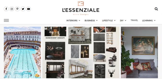 lessenziale-website-interior-design-675x331 Best 50 Interior Design Websites and Blogs to Follow in 2020