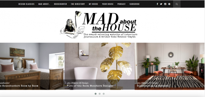 mad-about-the-house-website-interior-design-675x321 Best 50 Interior Design Websites and Blogs to Follow in 2019