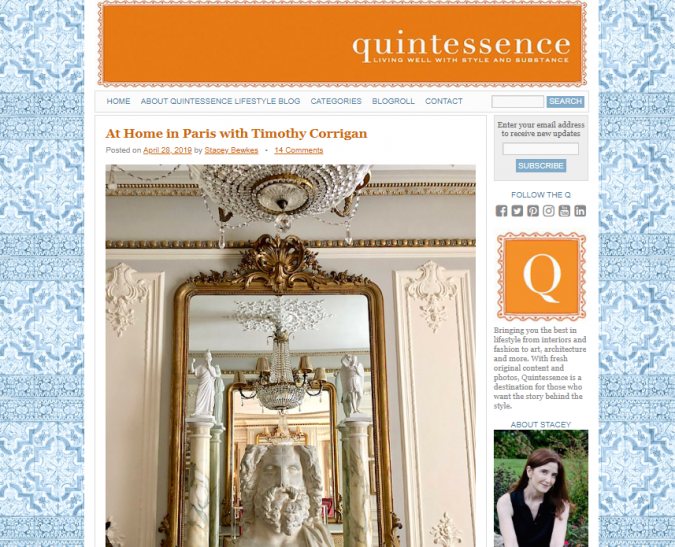 quintessence-website-interior-design-675x547 Best 50 Interior Design Websites and Blogs to Follow in 2019