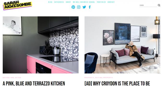 sarah-akwisombe-website-interior-design-675x357 Best 50 Interior Design Websites and Blogs to Follow in 2020