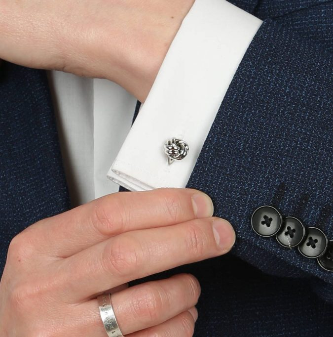 silver-knot-cufflinks-for-men-675x682 10 Accessories Every Man Should Own
