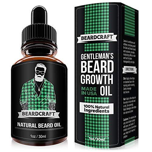 BeardCraft-Unscented-oil Top 20 Best Beard Growth Supplements