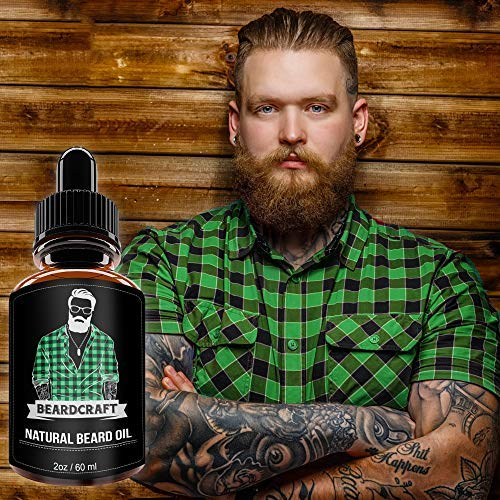 BeardCraft-Unscented Top 20 Best Beard Growth Supplements