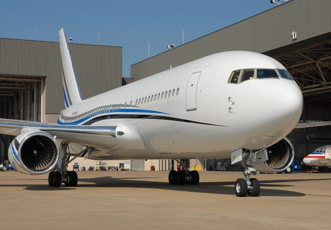 Boeing-767-277-675x469 15 Most Luxurious Helicopters and Private Jets Owned by Celebrities!