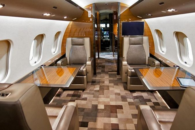 Bombardier-Global-675x450 15 Most Luxurious Helicopters and Private Jets Owned by Celebrities!