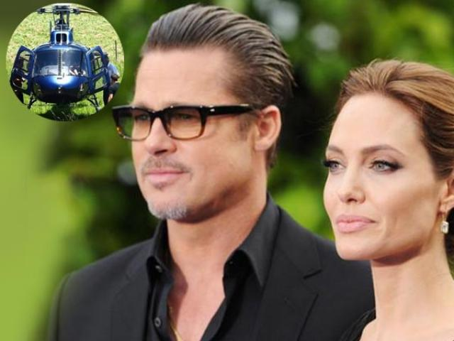 Brad-Pitt-helicopter 15 Most Luxurious Helicopters and Private Jets Owned by Celebrities!