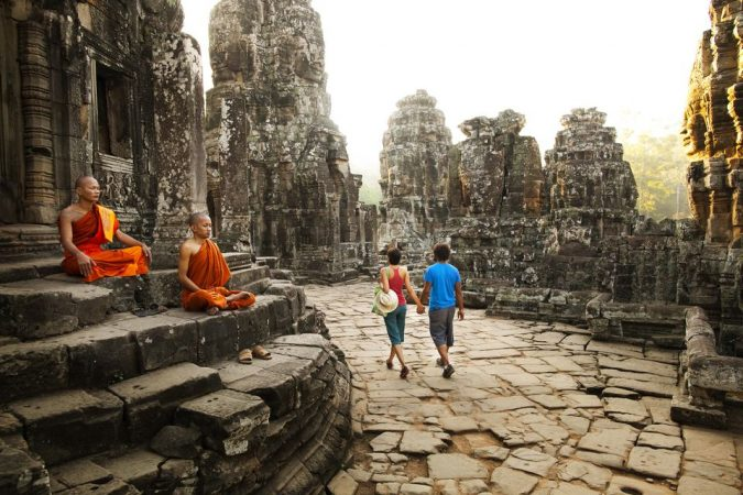 Cambodia-Buddhist-temple-675x450 Top 10 Most Luxurious Cruises for Couples in 2019