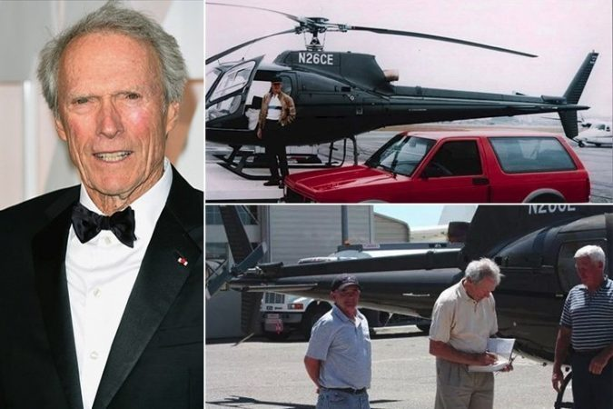 Clint-Eastwood-Jet-675x450 15 Most Luxurious Helicopters and Private Jets Owned by Celebrities!
