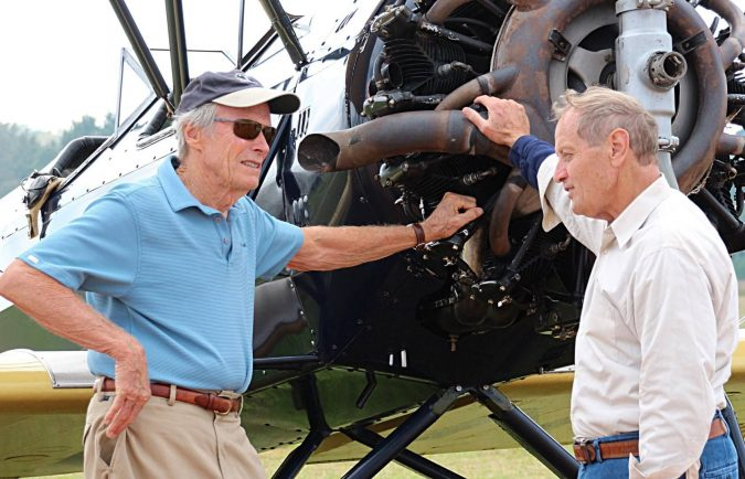 Clint-Eastwood-Jet.-675x434 15 Most Luxurious Helicopters and Private Jets Owned by Celebrities!