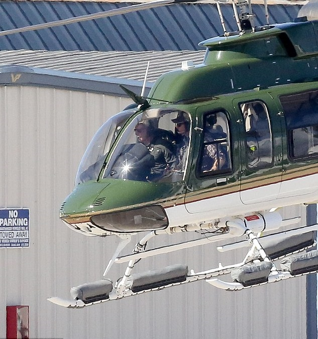 Harrison-Ford-helicopter-1 15 Most Luxurious Helicopters and Private Jets Owned by Celebrities!