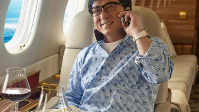 Jackie-Chan-private-jet-4-675x380 15 Most Luxurious Helicopters and Private Jets Owned by Celebrities!