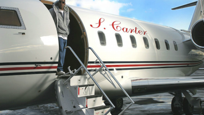 Jay-Z-private-jet.-675x380 15 Most Luxurious Helicopters and Private Jets Owned by Celebrities!