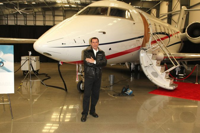 John-Travolta-675x450 15 Most Luxurious Helicopters and Private Jets Owned by Celebrities!