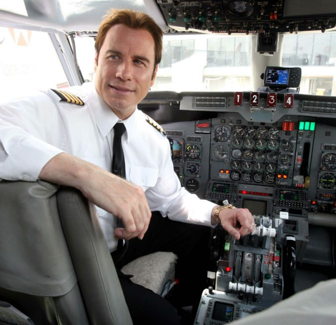 John-Travolta-the-pilote-675x654 15 Most Luxurious Helicopters and Private Jets Owned by Celebrities!