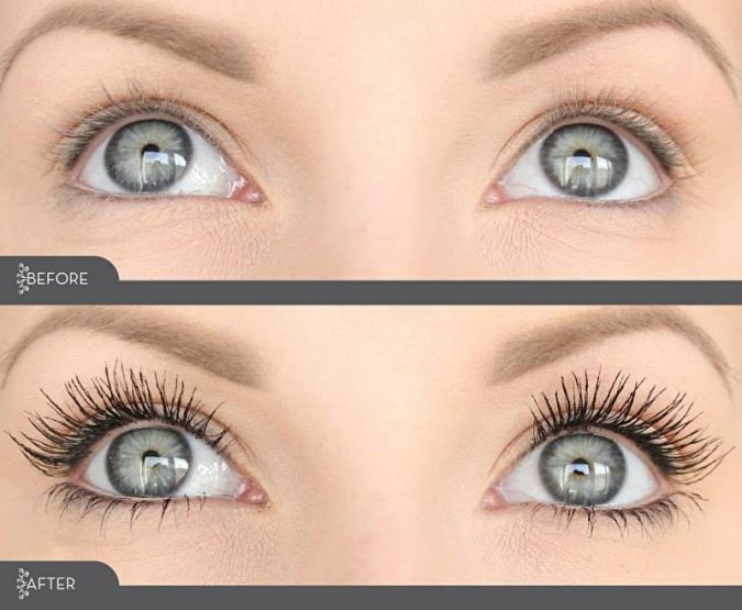 Makeup-3D-fiber-eyelashes-675x555 Top 20 Newest Eyelashes Beauty Trends in 2020