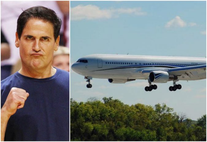 Mark-Cuban-private-jet-1-675x465 15 Most Luxurious Helicopters and Private Jets Owned by Celebrities!