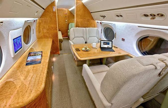 Mark-Cuban-private-jet-3-675x435 15 Most Luxurious Helicopters and Private Jets Owned by Celebrities!