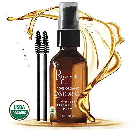 Organic-Castor-Oil Top 20 Best Beard Growth Supplements