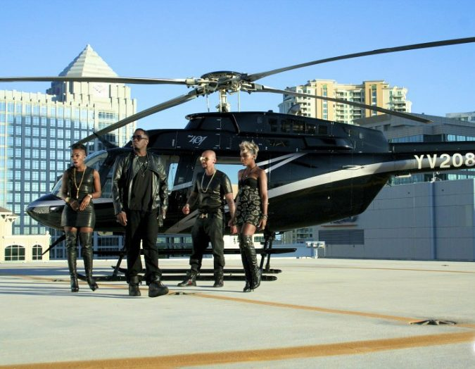 P-Diddy-helicopter-675x524 15 Most Luxurious Helicopters and Private Jets Owned by Celebrities!
