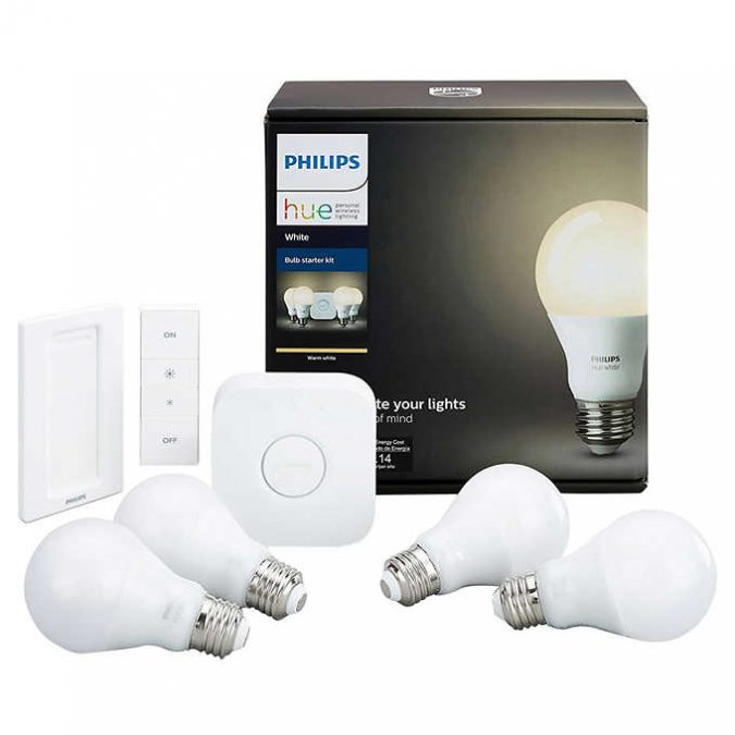 Philips-Hue-White-Smart-Bulb-Starter-Kit-675x675 5 Smart Home Items That Can Make Your Life Easier