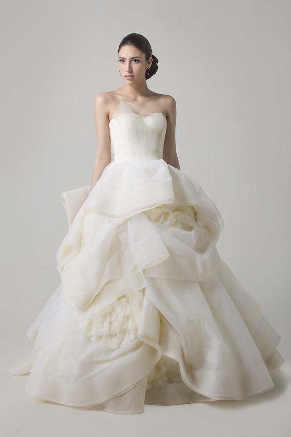 VERA_WANG-dress Top 10 Most Expensive Wedding Dress Designers in 2019