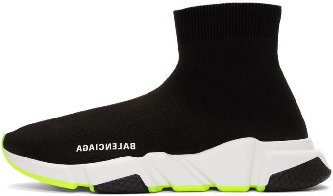 black-and-yellow-speed-sneakers-1-e1560252805193-675x397 Best 20 Balenciaga Shoes Outfit Ideas for Women in 2021