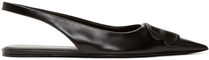 black-slingback-ballerina-flats-675x196 Best 20 Balenciaga Shoes Outfit Ideas for Women in 2021