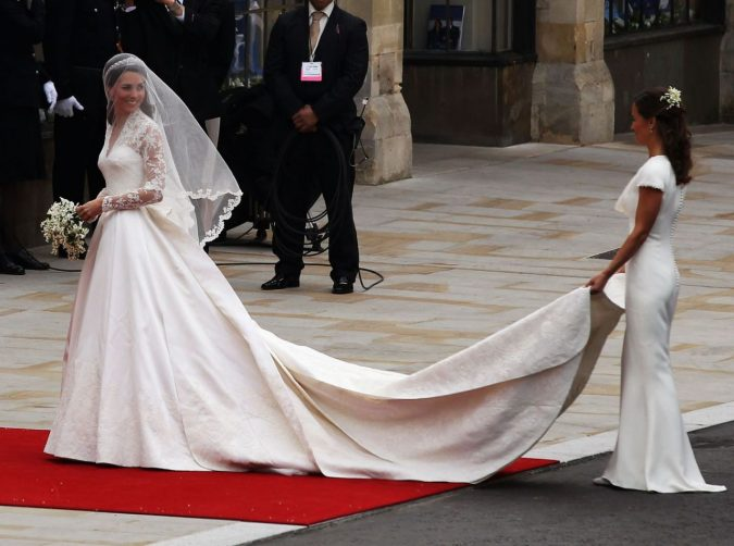 kate-middleton-royal-wedding-675x502 Top 10 Most Expensive Wedding Dress Designers in 2019