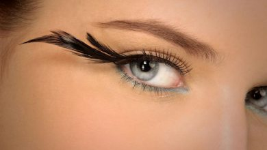 makeup-eyelashes-with-side-feathers-390x220 Top 20 Newest Eyelashes Beauty Trends in 2019