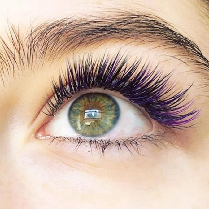 makeup-mermaid-eyelashes-2-675x675 Top 20 Newest Eyelashes Beauty Trends in 2020