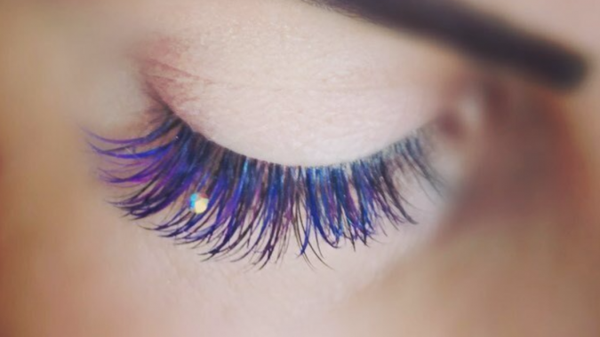 makeup-mermaid-eyelashes-675x380 Top 20 Newest Eyelashes Beauty Trends in 2019
