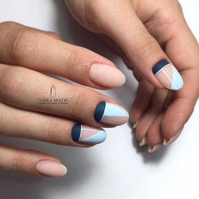 matte-nails +60 Hottest Nail Design Ideas for Your Graduation