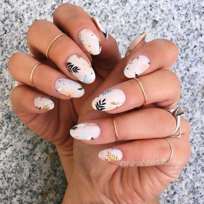 matte-pastel-nails-675x675 +60 Hottest Nail Design Ideas for Your Graduation