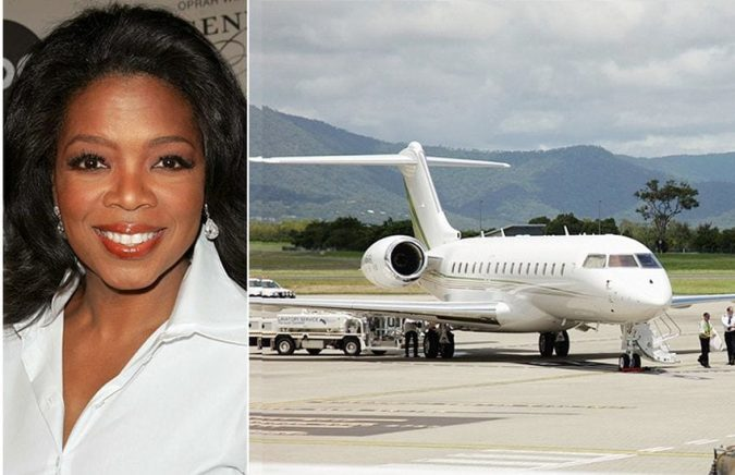 oprah-675x436 15 Most Luxurious Helicopters and Private Jets Owned by Celebrities!