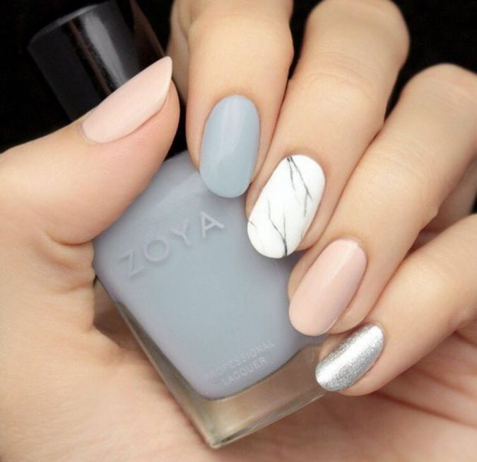 pastel-nails-675x653 +60 Hottest Nail Design Ideas for Your Graduation