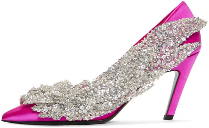 pink-satin-broderie-heels-shoes-e1560250679259-675x414 Best 20 Balenciaga Shoes Outfit Ideas for Women in 2021