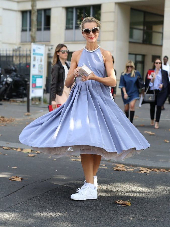 sundress-women-outfit-675x900 Best 20 Balenciaga Shoes Outfit Ideas for Women in 2021