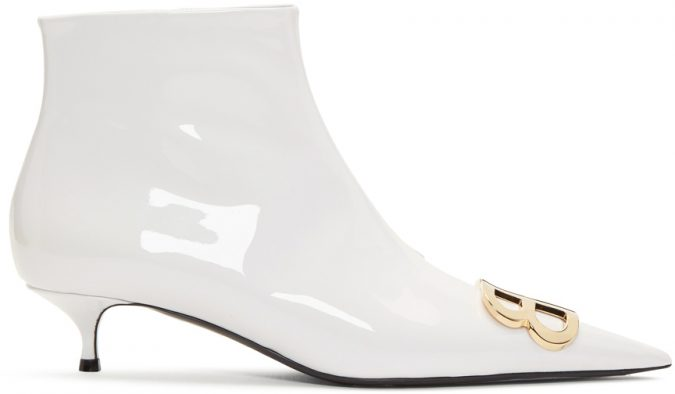 white-varnished-boots-675x394 Best 20 Balenciaga Shoes Outfit Ideas for Women in 2019