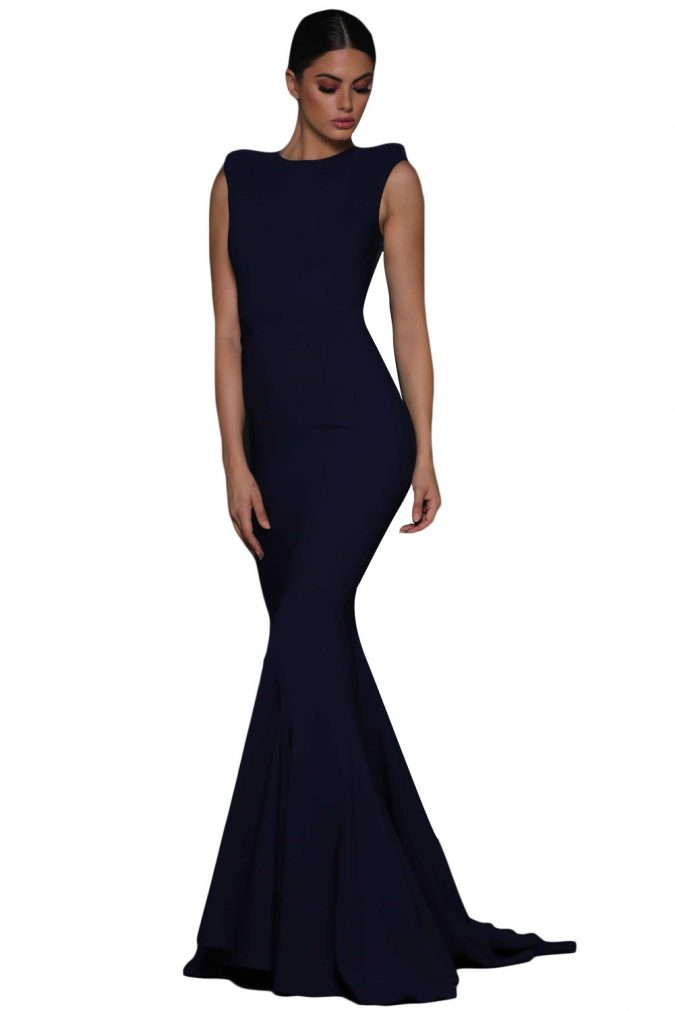 women-outfit-evening-dress-675x1011 Best 20 Balenciaga Shoes Outfit Ideas for Women in 2021